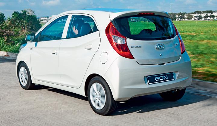 Hyundai Eon 2018 Rear end