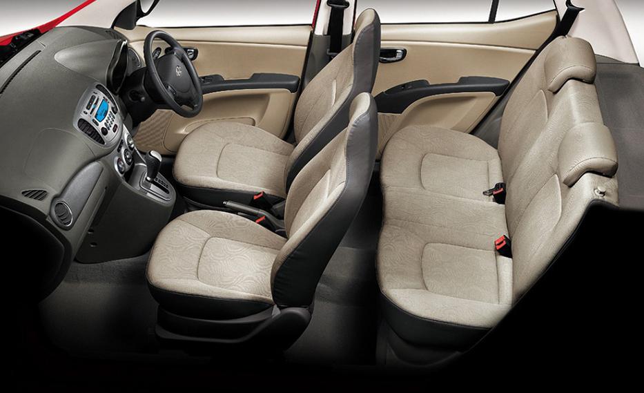 Seating of Hyundai Eon 2018