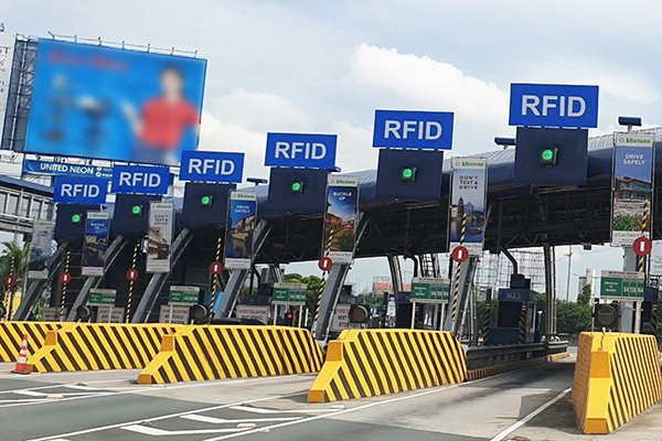 RFID is mandatory for using tollways