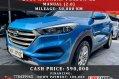 Blue Hyundai Tucson 2016 for sale in Las Piñas-0