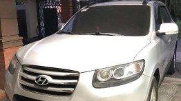 Sell Red 2012 Hyundai Santa Fe at Automatic Diesel at 80000 in Angeles