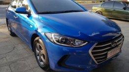 Selling Hyundai Elantra 2017 Manual Gasoline in Alaminos