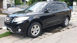 2nd Hand Hyundai Santa Fe 2012 Automatic Diesel for sale in Las Piñas
