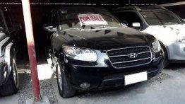 Selling Black Hyundai Santa Fe 2009 at 68362 km