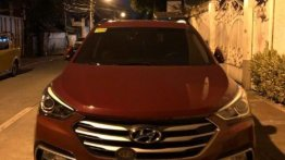 2nd Hand Hyundai Santa Fe 2017 for sale in Pasig