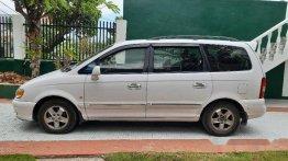 Sell White 2008 Hyundai Trajet Automatic Diesel at 127000 km