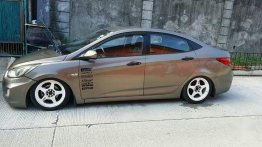 Hyundai Accent 2011 Manual Gasoline for sale in Lal-lo