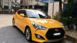 Selling Hyundai Veloster 2017 Automatic Gasoline in Makati