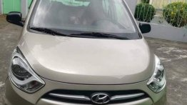 Selling Hyundai I10 2013 Automatic Gasoline in Quezon City