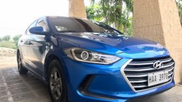 Hyundai Elantra 2017 Manual Gasoline for sale in Cebu City