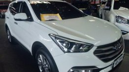 Sell White 2016 Hyundai Santa Fe in Quezon City