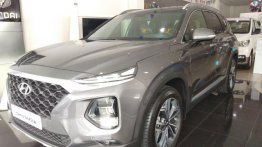 Hyundai Santa Fe 2019 Automatic Gasoline for sale in Quezon City
