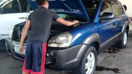Selling Hyundai Tucson 2006 Automatic Gasoline in Bacoor