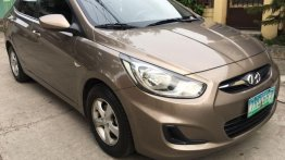 2nd Hand Hyundai Accent 2011 Automatic Gasoline for sale in Las Piñas