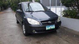 Selling Gray Hyundai Getz 2011 in Cabanatuan
