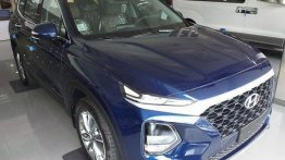 Blue 2019 Hyundai Santa Fe for sale
