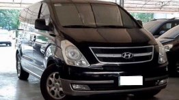 Black Hyundai Starex 2010 at 93000 km for sale