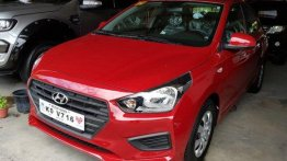 Red Hyundai Reina 2019 Manual Gasoline for sale