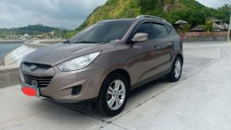 Sell Brown 2011 Hyundai Tucson at 60000 km