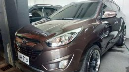 Brown Hyundai Tucson 2014 for sale in Quezon City