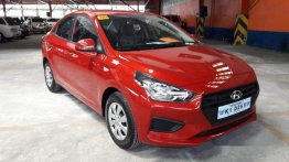 Selling Red Hyundai Reina 2019 Automatic Gasoline