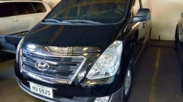 Black Hyundai Grand Starex 2018 for sale in Quezon City