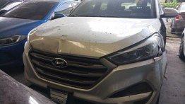 Silver Hyundai Tucson 2016 Manual Diesel for sale