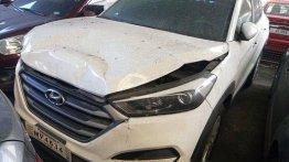 Sell White 2018 Hyundai Tucson at 15000 km