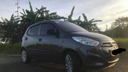 Used Hyundai I10 2014 Automatic Gasoline for sale in Quezon City