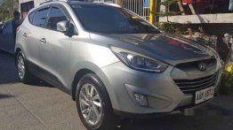 Silver Hyundai Tucson 2014 for sale in Rosales