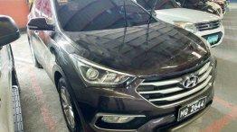 Selling Black Hyundai Santa Fe 2016 Automatic Diesel