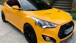 Sell Yellow 2013 Hyundai Veloster at 50000 km