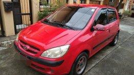 Sell Red 2007 Hyundai Getz at 140000 km