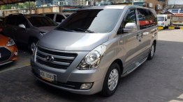 Selling Silver Hyundai Grand Starex 2017 Automatic Diesel at 12000 km