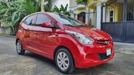 Selling Red Hyundai Eon 2017 Manual Gasoline