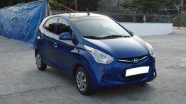 Blue Hyundai Eon 2018 for sale in Muntinlupa