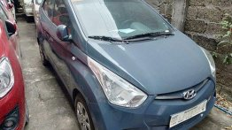 Sell Blue 2018 Hyundai Eon in Quezon City