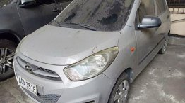 Silver Hyundai I10 2014 for sale in Quezon City