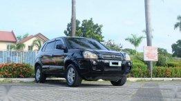 Sell Black 2007 Hyundai Tucson in Quezon City