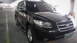 Selling Black Hyundai Santa Fe 2008 in Quezon City