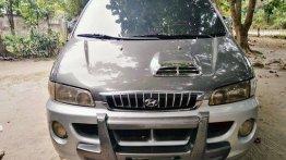 Sell Grey 2001 Hyundai Starex in Lubao