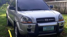 Selling Silver Hyundai Tucson 2007 in Manila
