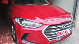Red Hyundai Elantra 2019 for sale in Santa Rosa