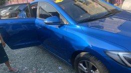 Blue Hyundai Elantra 2017 for sale in Mandaluyong