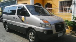 Silver Hyundai Starex 2006 for sale in Automatic