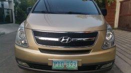 Brown Hyundai Starex 2010 for sale in Manila