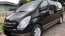 Black Hyundai Grand starex 2013 for sale in Angeles