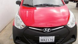 Red Hyundai Eon 2013 Manual for sale