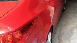 Red Hyundai Accent 2011 for sale in Pasig