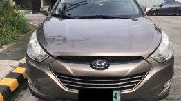 Bronze Hyundai Tucson 2013 for sale in Automatic